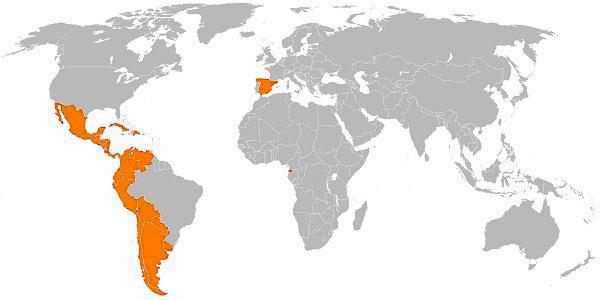 Mapa Español