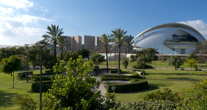 Best green places in Valencia