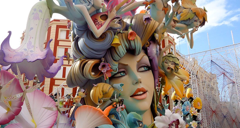 The Fallas 2017 : A festival of noise and fire !