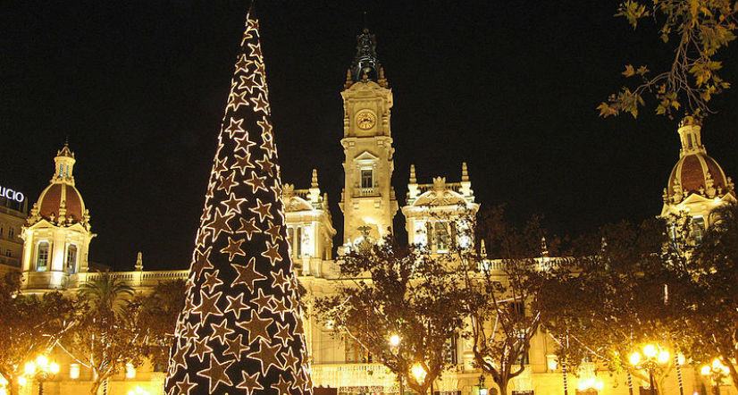 Christmastime in Valencia