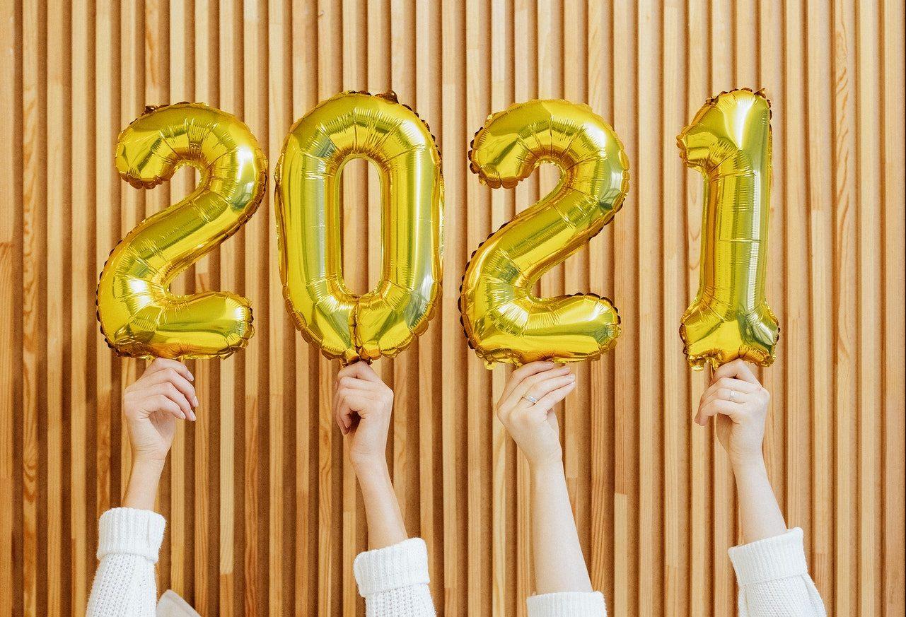 2021: ¡Feliz Año Nuevo!